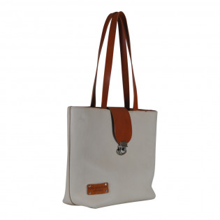 Tote Cream Buffalo